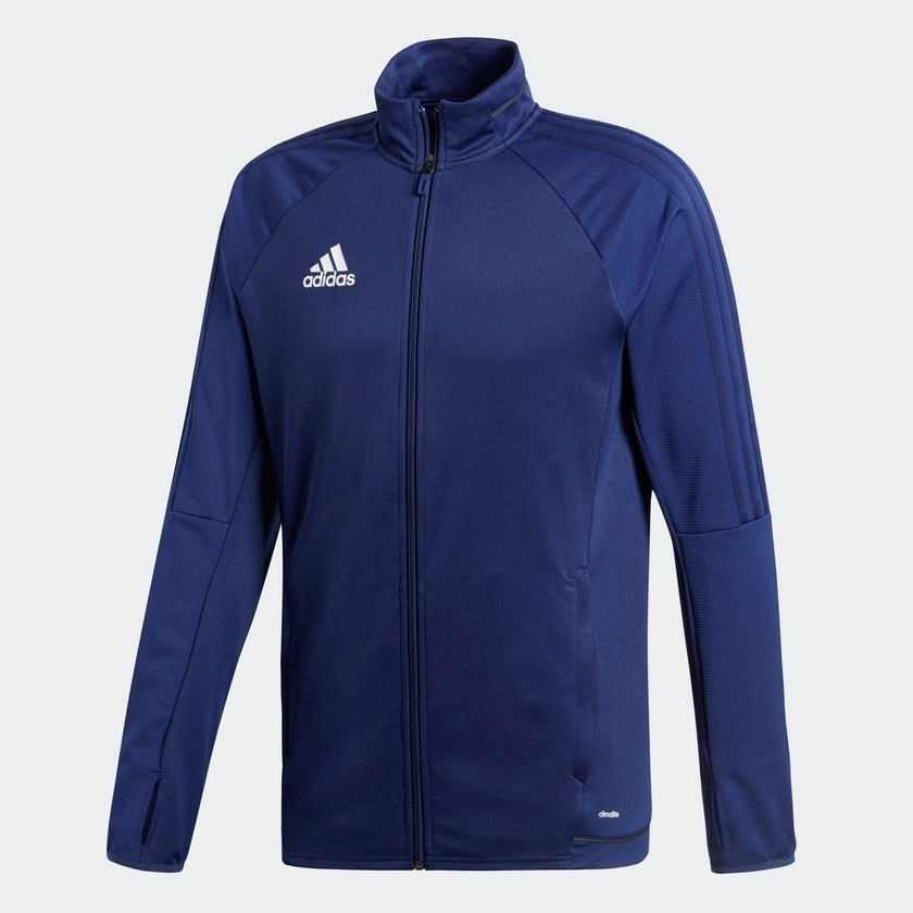 Adidas Tiro 17 Training Jacket with BUSC or CBAA IM Soccer Logo