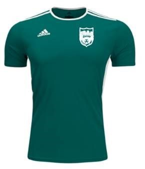 CBAA IM Soccer adidas Jersey -- Green Replacement