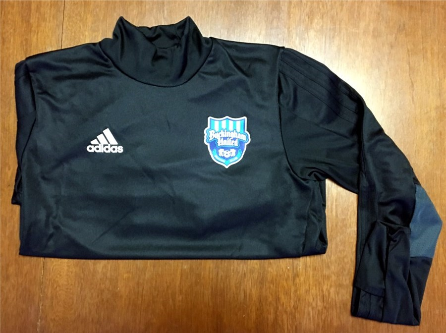 Adidas Tiro 17  L/S Climacool Training Top with BUSC or CBAA IM Soccer Logo