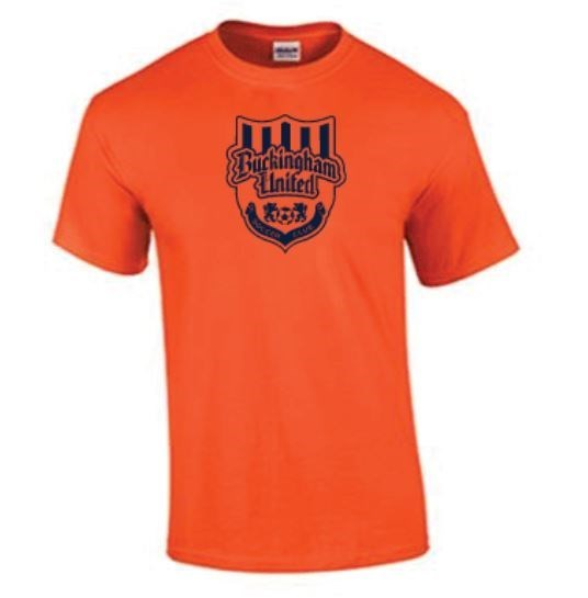 Buckingham United Orange Training Jersey