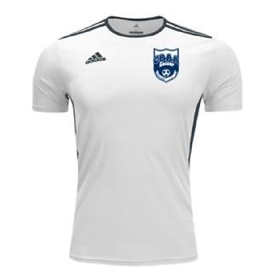 CBAA IM Soccer adidas Jersey -- White Replacement